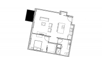 ULI Seven27 534 - One Bedroom, One Bathroom