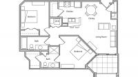 ULI The Depot 1-508 - One Bedroom Plus Den, Two Bathroom