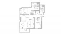ULI The Pressman 512 - Two Bedroom, Two Bathroom