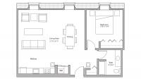 ULI Tobacco Lofts E211 - One Bedroom, One Bathroom