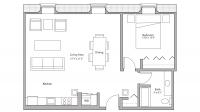 ULI Tobacco Lofts E311 - One Bedroom, One Bathroom
