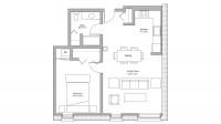 ULI Tobacco Lofts W210 - One Bedroom, One Bathroom